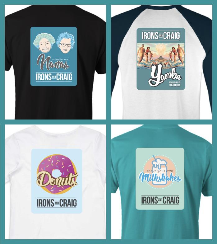 website tshirts x4 image
